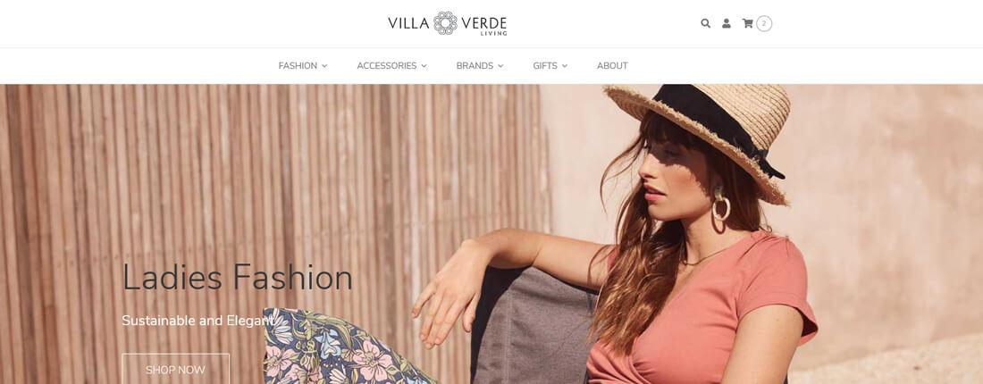 Laughing Buddha Web Design Porfolio - Villa Verde Living